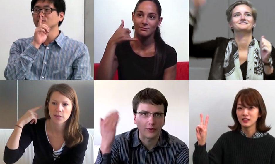 gesture-faces